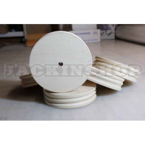 Колесо для заглаживания торцов 100 мм (бук)