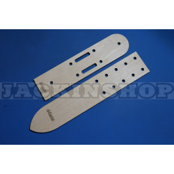 Шаблон - лекало для ремней 44 мм. 2 шпинька