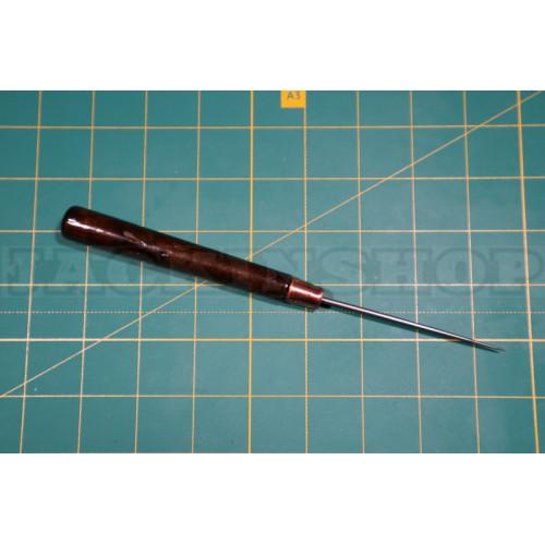 Шило с деревянной ручкой. 16 см