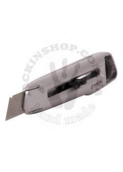 Нож металлический усиленный, 18 мм