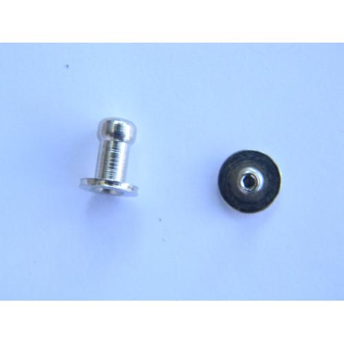 Винт кабурной 5мм (никель)