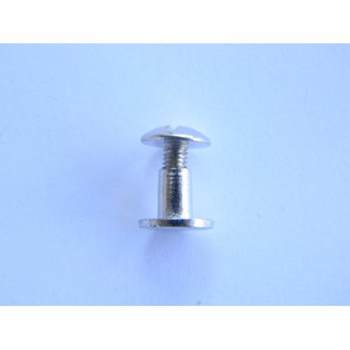 Винт ременной 6мм (никель)