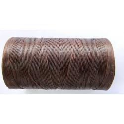 Нить вощеная коричневая 0,8 мм.