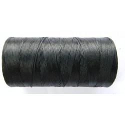 Нить вощеная черная 0,8 мм.