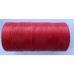 Нить вощеная красная 0,8 мм.