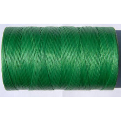 Нить вощеная зелёная 1 мм.