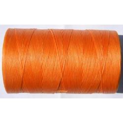 Нить вощеная оранжевая 1 мм.