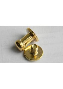 Гвинт кабурной 5мм (золото)