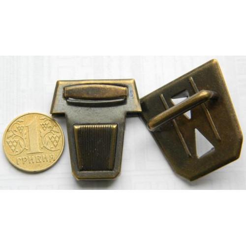 Застёжка портфельная, большая (антик)