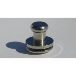 Винт кабурной 3мм (никель)