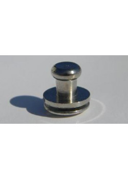 Гвинт кабурной 3мм (нікель)