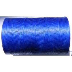 Нить вощеная синяя 1 мм.