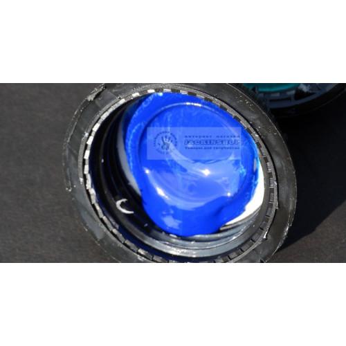 Краска для уреза на полиуретане синяя