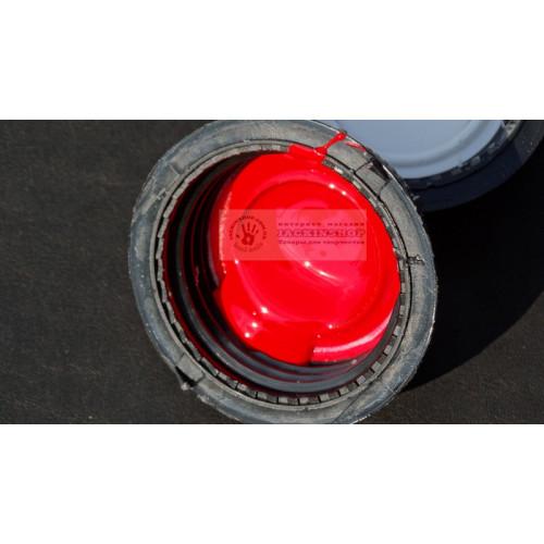 Краска для уреза на полиуретане красная