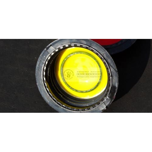 Краска для уреза на полиуретане желтая 100мл
