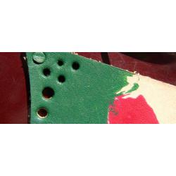 Краска для кожи. Зелёная 100 мл