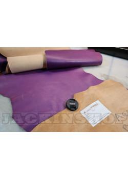 Распродажа. Лот 6. Кожа растительного дубления Purple 107 дц.кв
