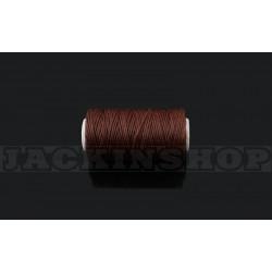 Вощеная нитка 1мм, бобіна 50 м, коричнева
