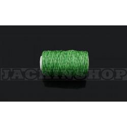 Вощеная нитка 1мм, бобіна 50 м, Зелена