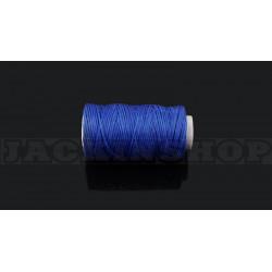 Вощеная нитка 1мм, бобіна 50 м, Синя