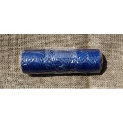 Вощеная нить синяя бобина 100 м