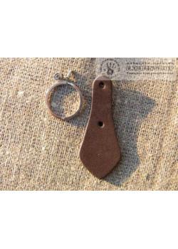 Шкіра ремінна коричнева 3,8-4мм