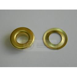 Блочка Люверс 10мм (50шт) золото