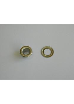 Блочка Люверс 5мм (50шт) никель