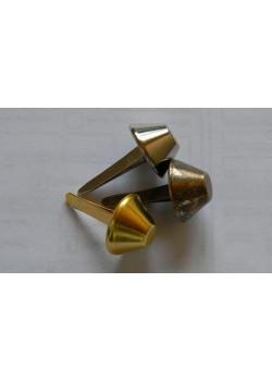 """ножка конус """"тупой"""" 10 мм никель ( 20 шт)"""