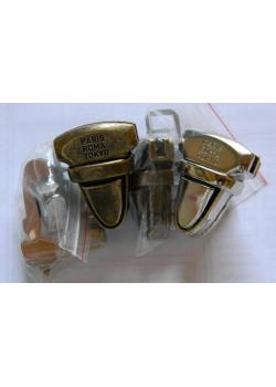 Застёжка портфельная (литая, никель)