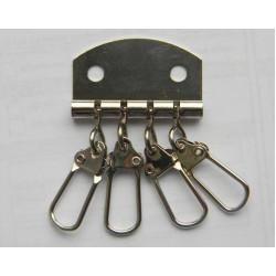 Карабіни для ключниці (4). нікель