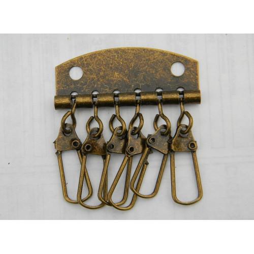 Карабины для ключницы (6). Антик