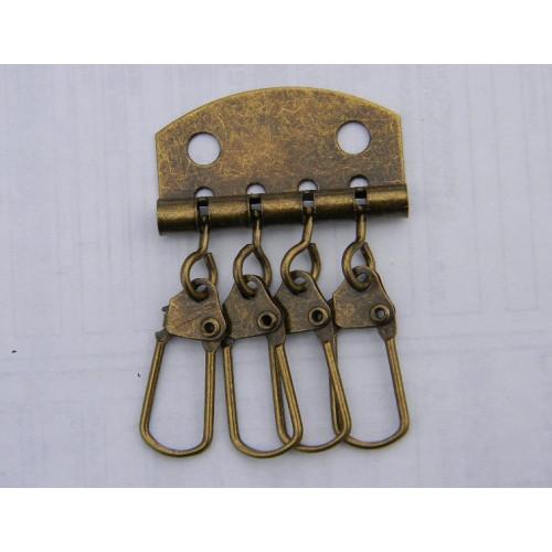 Карабины для ключницы (4). Антик