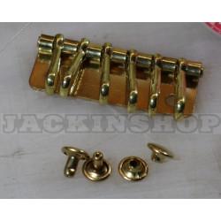 Карабіни для ключниці (6). латунь