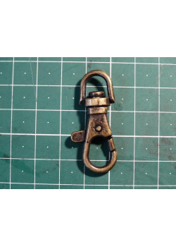 Карабин ключный 8 мм антик