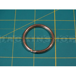 Кільце ключним з латуні 30мм (Круглий дріт)