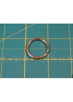 Кольцо ключное из латуни 20мм ( круглая проволока )