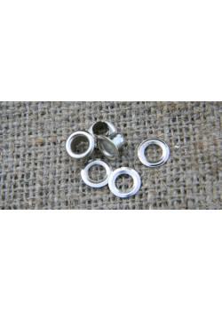 Блочка Люверс 4мм (50шт) никель