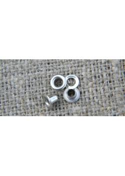 Блочка Люверс 3мм (50шт) никель