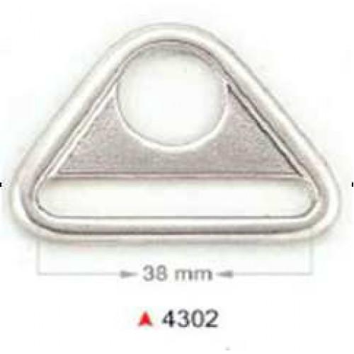Треугольник для карабина (никель) Турция