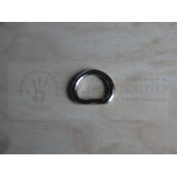 Полукольцо 10мм никель