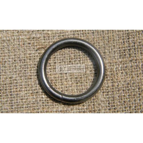 Кольцо 33 мм черный никель
