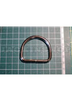 Полукольцо высокое 40мм никель