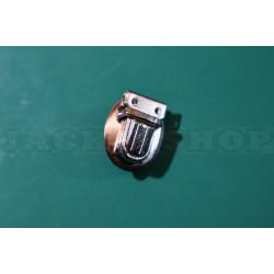 Застёжка портфельная, микро, овал (никель)