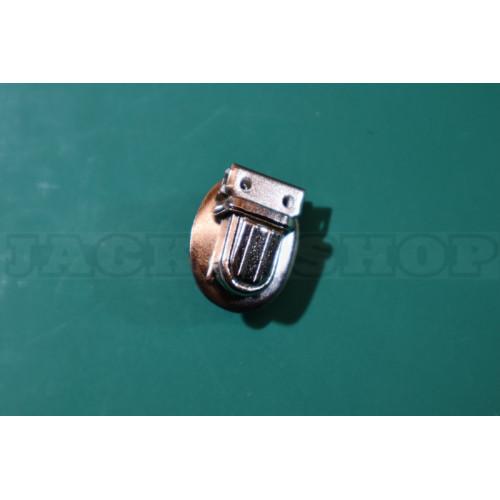 Застібка портфельна, мікро, овал (нікель)