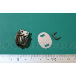 Застёжка портфельная, микро, овал (антик)