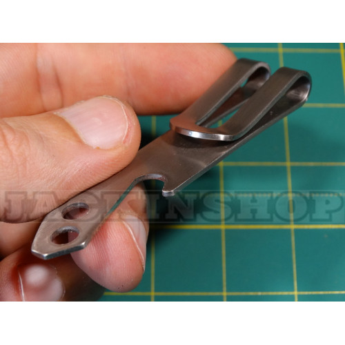 Притиск для купюр з нержавіючої сталі з відкривачкою