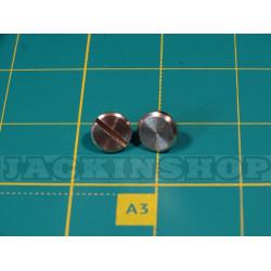 Гвинт пасовий латунь 6 мм