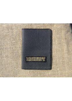 Обложка для паспорта из кожи флотар 2