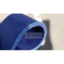 Кожа ременная синяя 3,8-4 мм (чепрак)